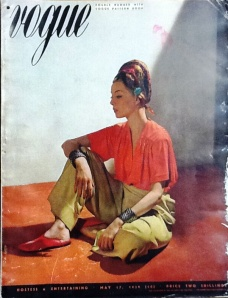 British Vogue (17 May 1939). (c) Fashion Museum, Bath and North East Somerset Council.