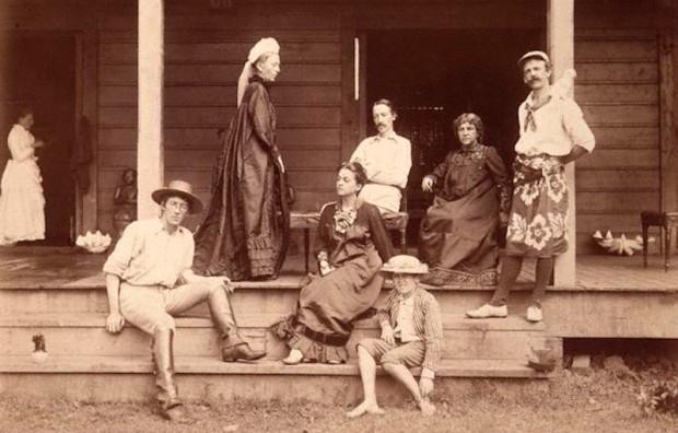 by J. Davis,photograph,circa 1891