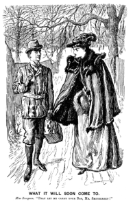 Illustration by unknown artist © Punch, or the London Charivari 1894