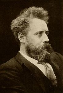 William Ernest Henley became a key agent in Stevenson's transatlantic network .